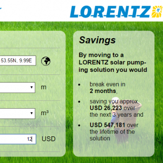 LORENTZ ROI Calculator