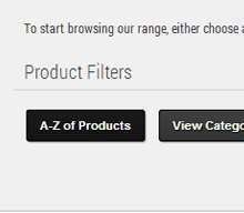 product filters screenshot