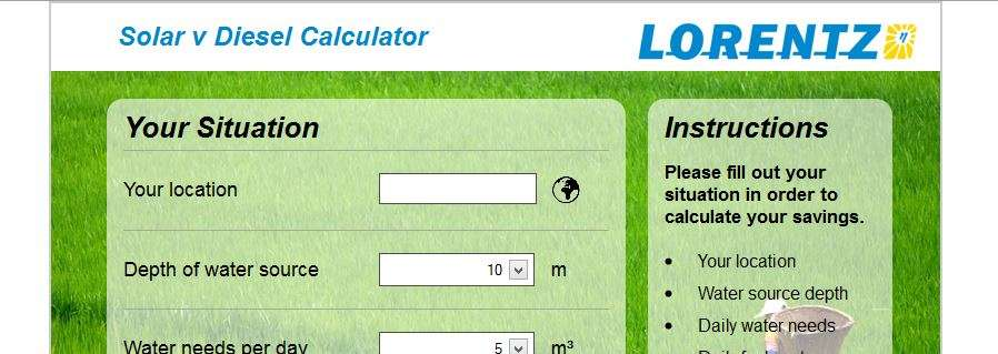 LORENTZ Solar ROI calculator app [Case study]