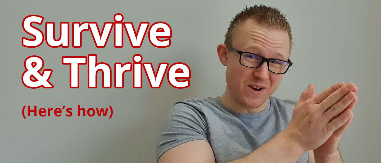 Video: Survive and Thrive Despite the Coronavirus! (20+ ways for business) post image
